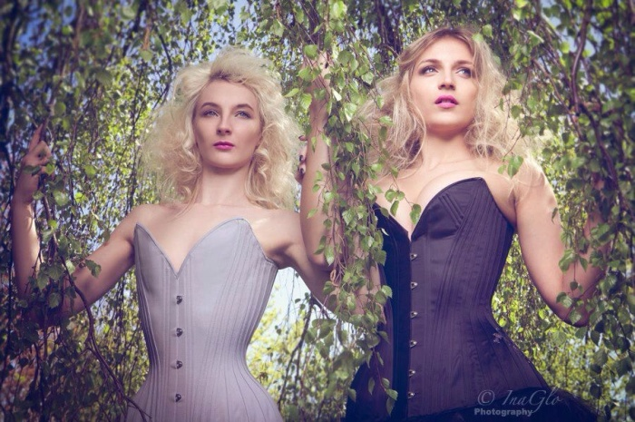 Cassie Rae Wardle and Emily by InaGlo Photography, 2013.