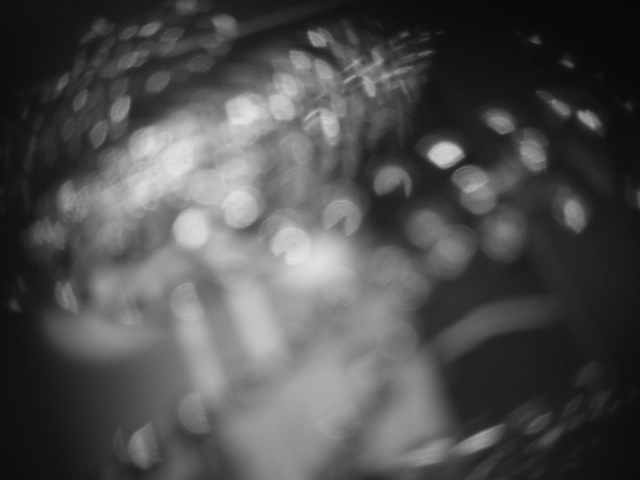 Blurry close-ups for sparkly texture.